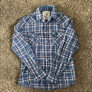 Other - RED WHITE AND BLUE FLANNEL